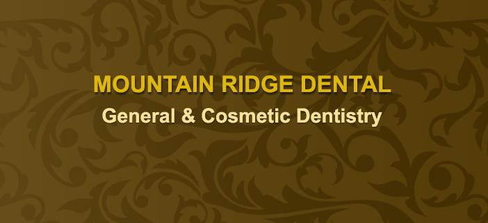 mountain ridge dental logo