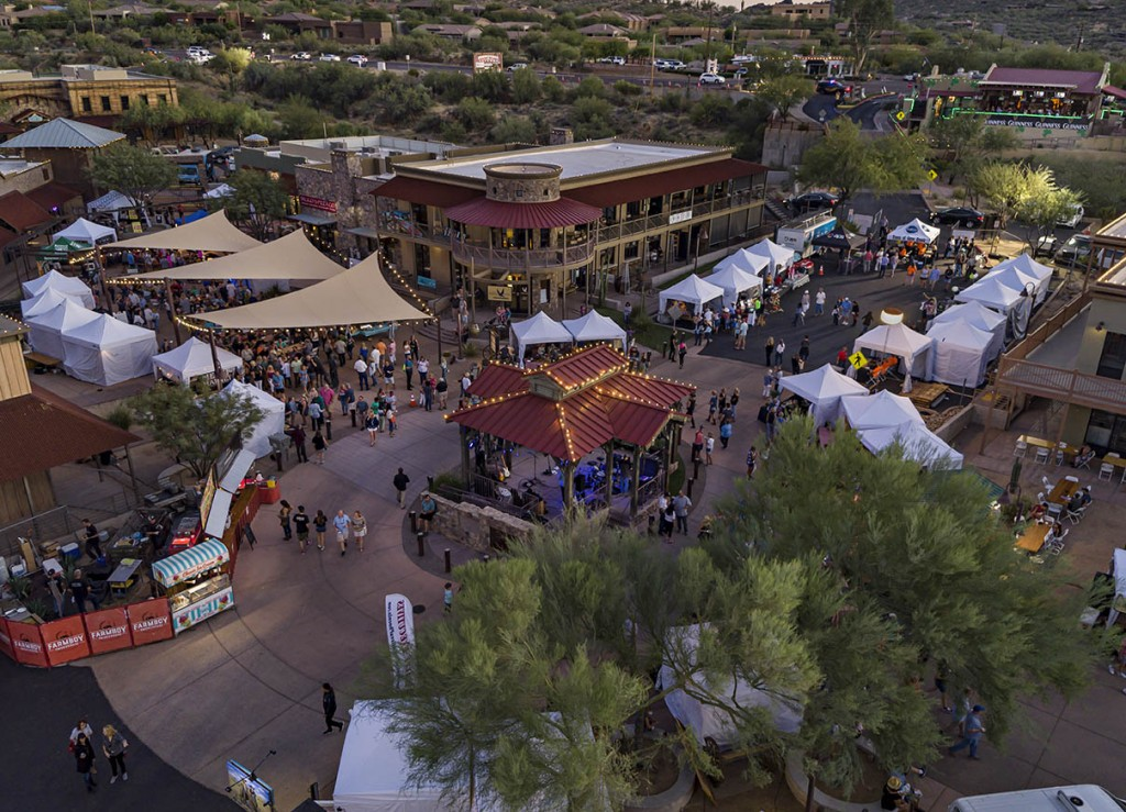 STAGECOACH VILLAGE event flyover